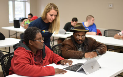 Microsoft hosts workshops about careers and assistive technology