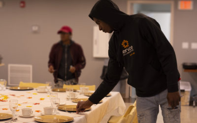 Students develop skills through Banquet and Server Training