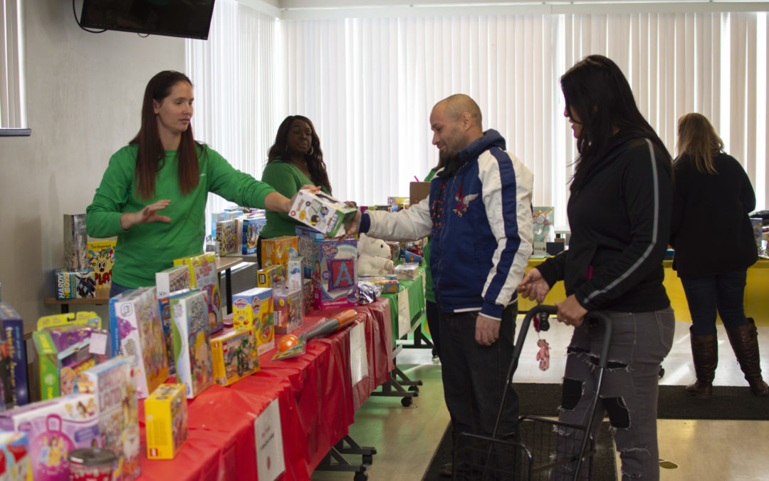 Adopt a Family Holiday Store another success
