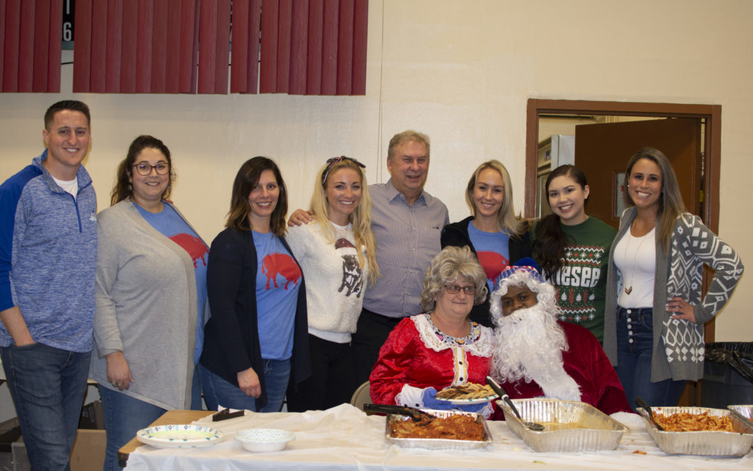 Out of the Blue plans festive holiday lunch