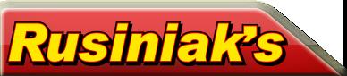 Rusiniak's Logo
