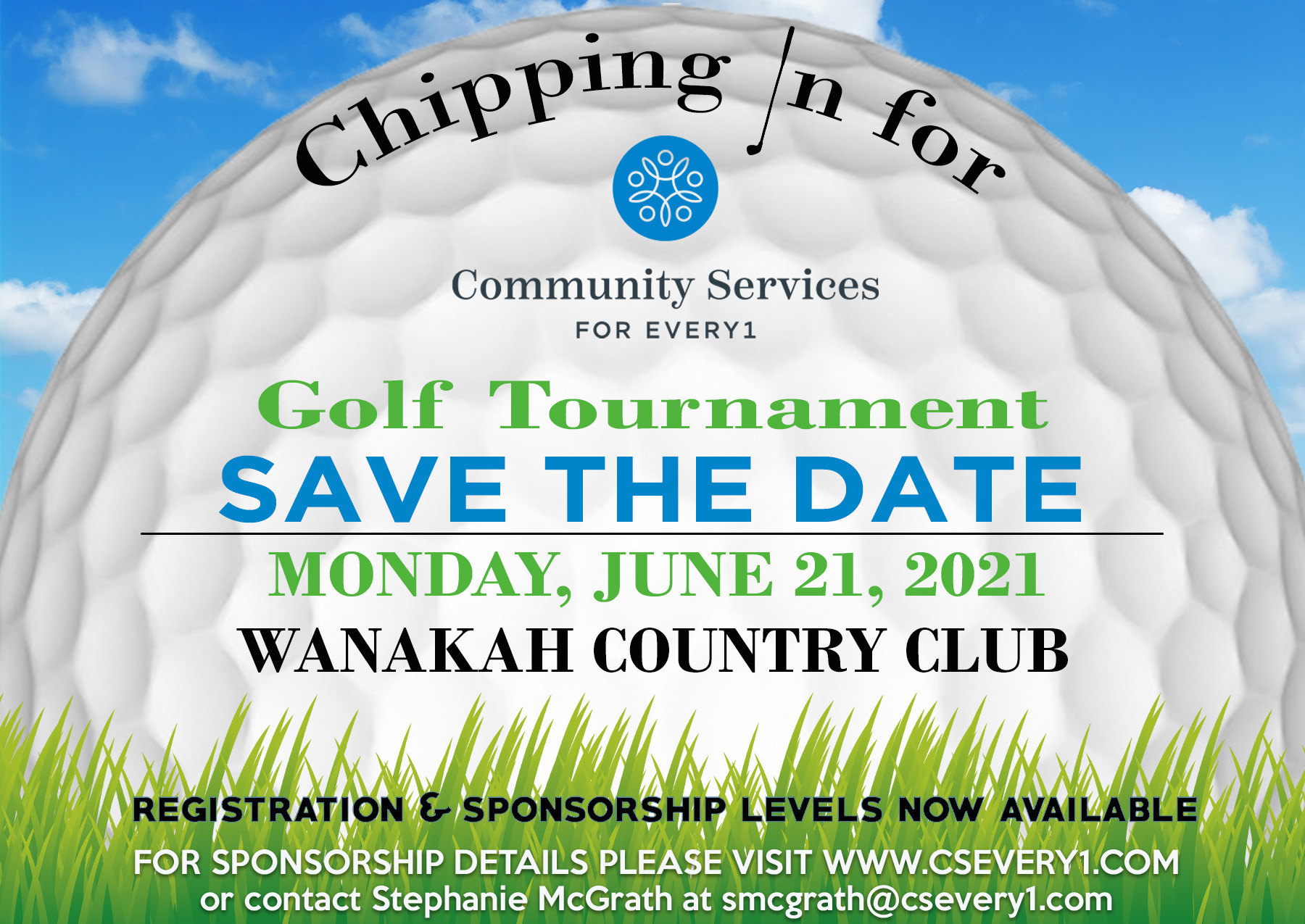 Golf Tournament Save the Date