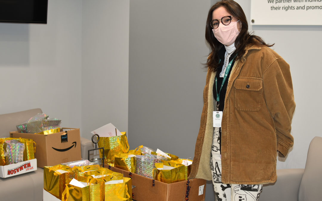 Student donates homemade self-care gift bags