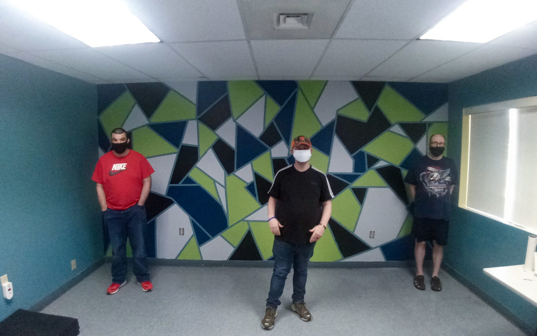 Day Hab gets creative with their art studio