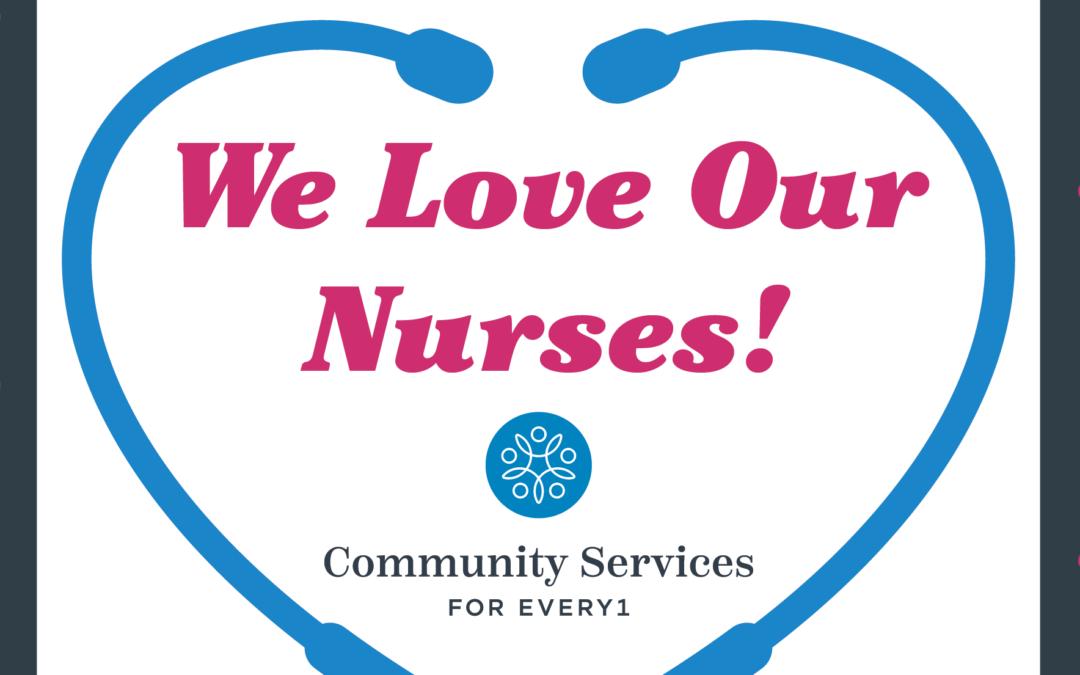 Recognizing our Nurses!
